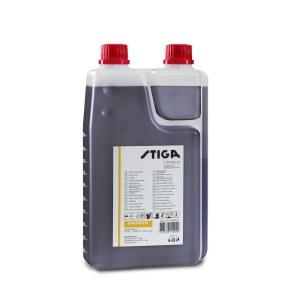 Alyva dvitakčiams varikliams kuro mišinio maišymui Stiga 1111923001; 1L (su dozatoriumi)