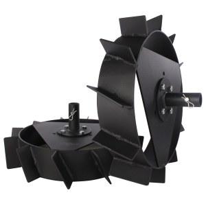 Plieniniai ratai Texas Fusion kultivatoriui
