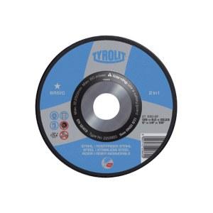 Šlifavimo diskas Tyrolit A 30 BF; Ø 125x6 mm; 1 vnt.