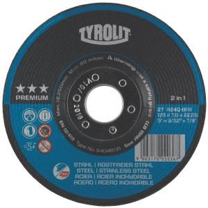 Šlifavimo diskas Tyrolit; Ø125x7 mm