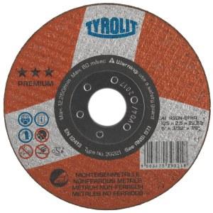 Abrazyvinis pjovimo diskas Tyrolit CERABOND 41F; 125 mm
