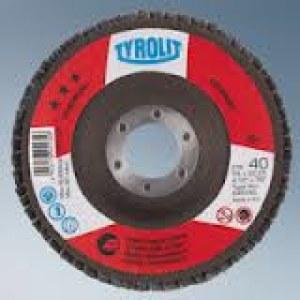 Vėduoklinis šlifavimo diskas Tyrolit; Ø125 mm; 1 vnt.