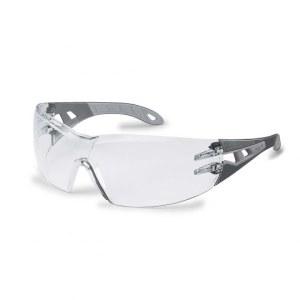Apsauginiai akiniai Uvex Pheos; HC/AF; siauri; pilki