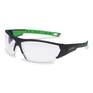 Apsauginiai akiniai Uvex i-Works; skaidrūs; žali