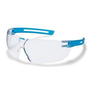 Apsauginiai akiniai Uvex X-Fit; Supravision excellence; skaidrūs; žydri