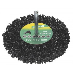 Šlifavimo diskas Wolfcraft; 100x13 mm