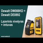 Dewalt DW088KD + imtuvas Dewalt DE0892